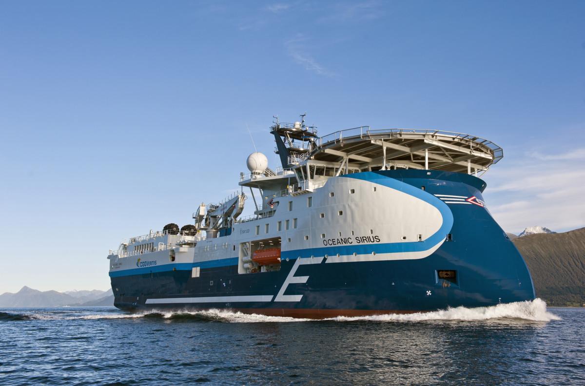 CGG Veritas Oceanic Sirius