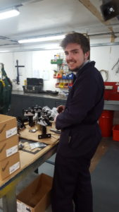 Harry Safe work experience