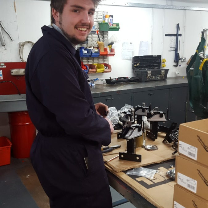 Bridgwater engineering student joins us for work experience