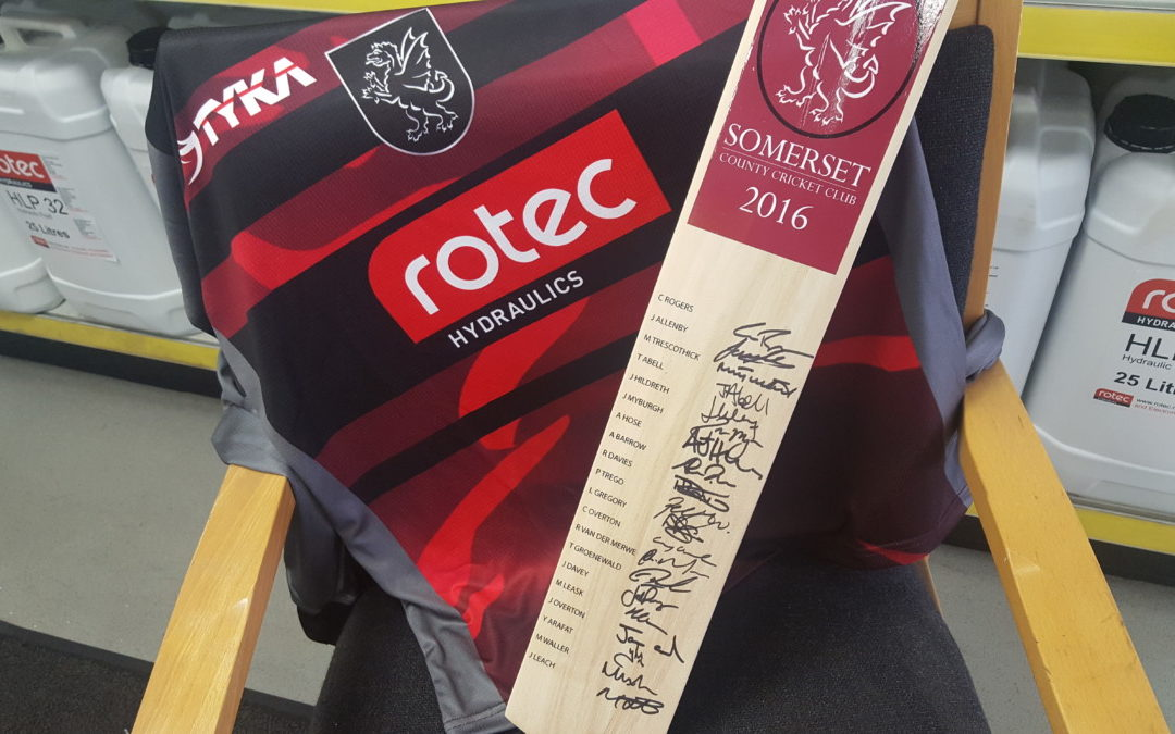 Signed SCCC bat giveaway