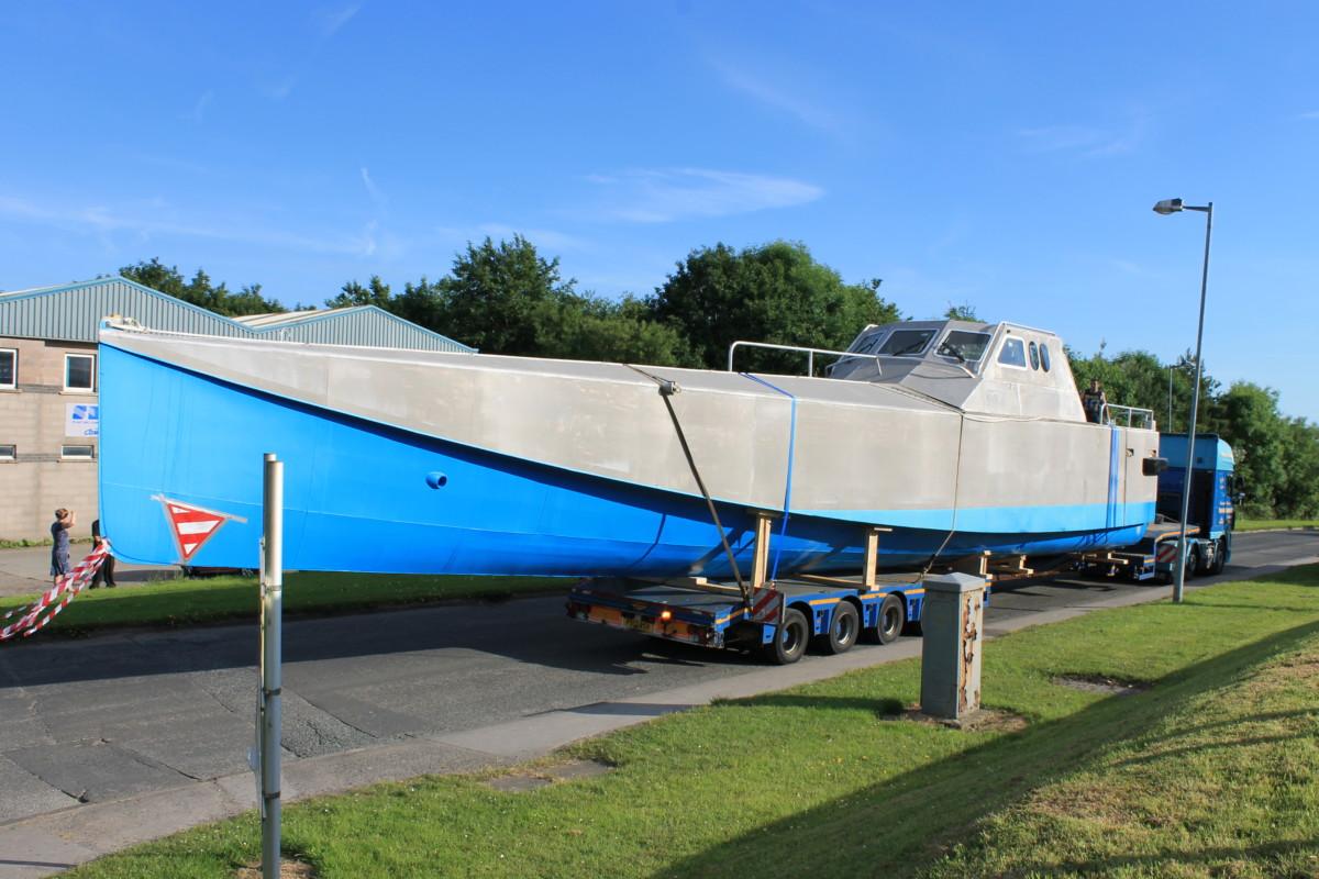 WaveAccess Tenacity vessel