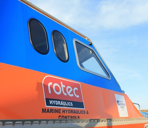 Rotec part of a groundbreaking vessel development: WaveAccess