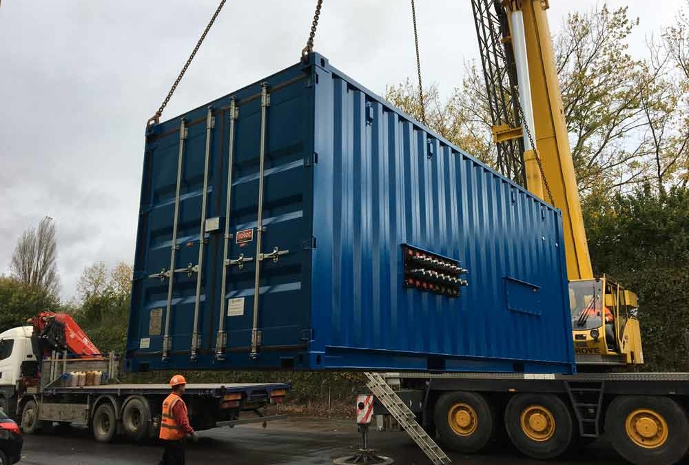 Case study: Containerised Flushing Rig