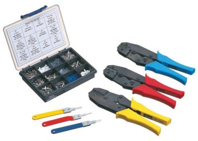 IQAN tools, cables and connectors